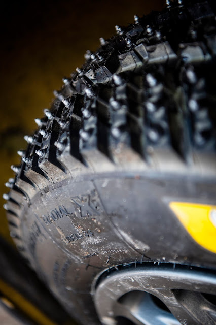Michelin Studded Ice and Snow Tyre