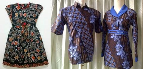 gambar baju batik sarimbit orang gemuk