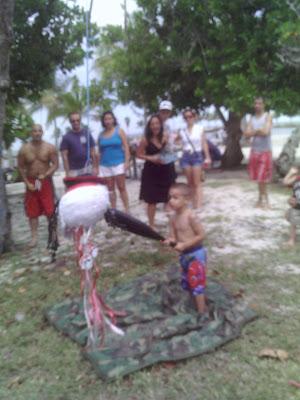 Piñata Pirate Birthday Party Miami