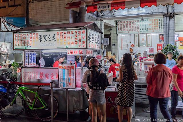 MG 6675 - 蔡家豆花,忠孝夜市30年人氣老店,半夜1點也能透心涼,還能吃到刈包、米血糕與小籠包!