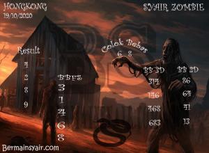 Kode syair Hongkong senin 19 oktober 2020 316
