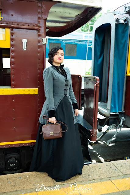 traje de passeio 1890s - ensaio steampunk