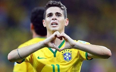 Oscar là cầu thủ không có tên trong danh sách tham dự Copa America