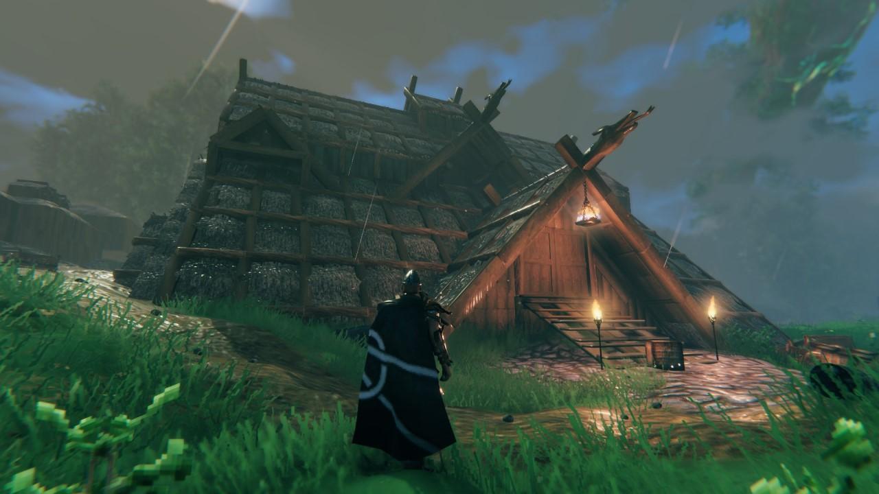 Valheim. How to fix a house or a ship?