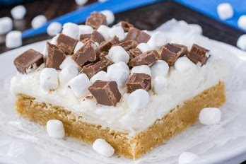 S'mores Sugar Cookie Bars