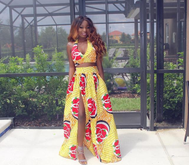 La jupe longue africaine, la mode du moment : Jupe, longue, culture, style, tendance, élégance, mode, chic, beauté, tissu, wax, dashiki, femme, noire, LEUKSENEGAL, Dakar, Sénégal, Afrique