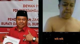 Ditangkap Polisi, Tersangka Penyebar Video Wikwik Petinggi PDIP Ternyata Kader PDIP Juga