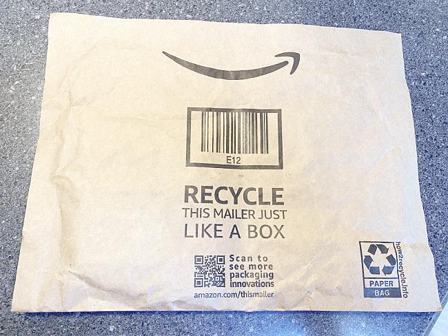 paper Amazon mailer