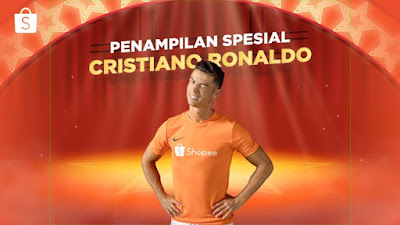 Ronaldo Hebohkan Shopee 9.9 Super Shopping Day