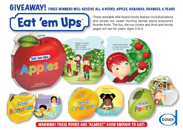 Eat 'em Ups fruit board books