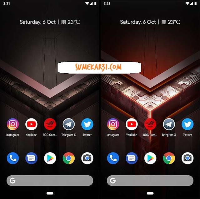 Download Asus ROG Phone Wallpapers dan Live Wallpaper - Asus ROG Phone Live Wallpaper State Change
