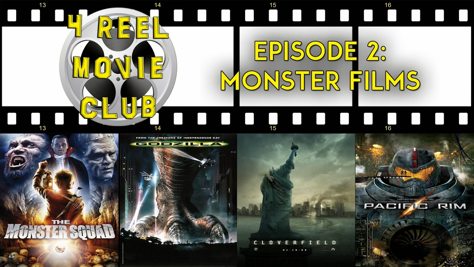 Monster Squad, Godzilla (1998), Cloverfield and Pacific Rim