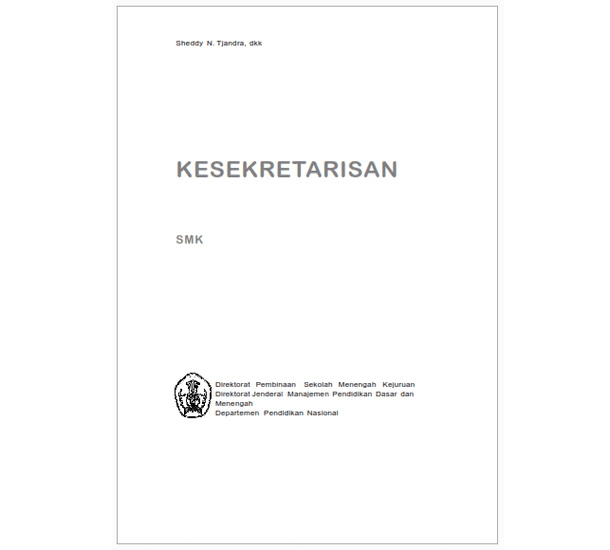Buku SMK Bisnis Manajemen Kesekretarisan