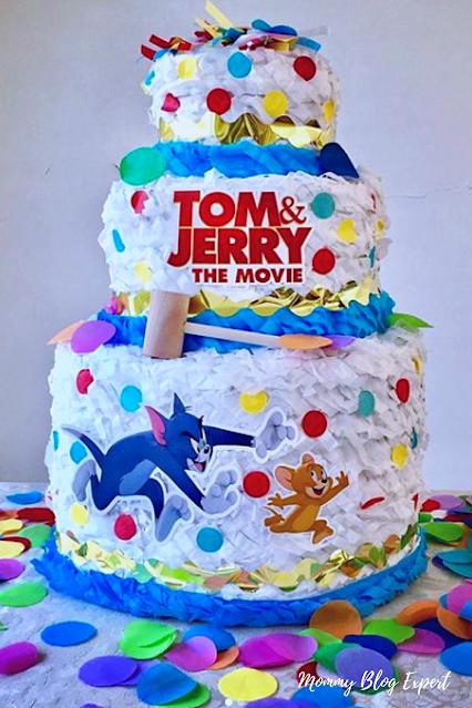 Tom and Jerry Movie Wedding Cake Pinata