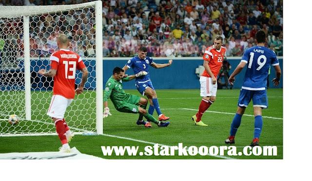 موعد مباراة روسيا وقبرص في تصفيات كأس العالم أوروبا والقنوات الناقلة