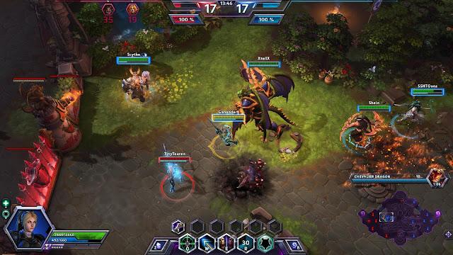Heroes of the Storm, análisis de videojuegos