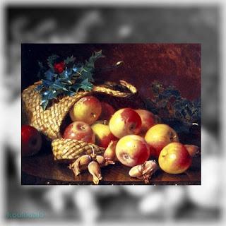 [Χριστουγεννιάτικα φρούτα και ξηροί καρποί] Eloise Harriet Stannard