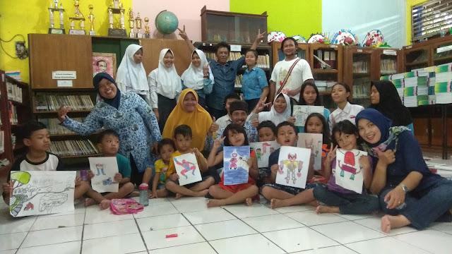 Ekstrakurikuler kartun di SMP Negeri 17 Semarang