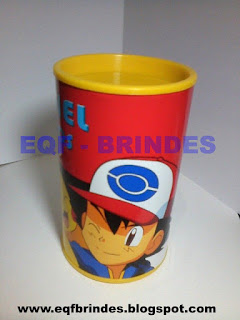 cofrinho pokemon, pokemon, brinde pokemon, lembrancinha pokemon, tema pokemon
