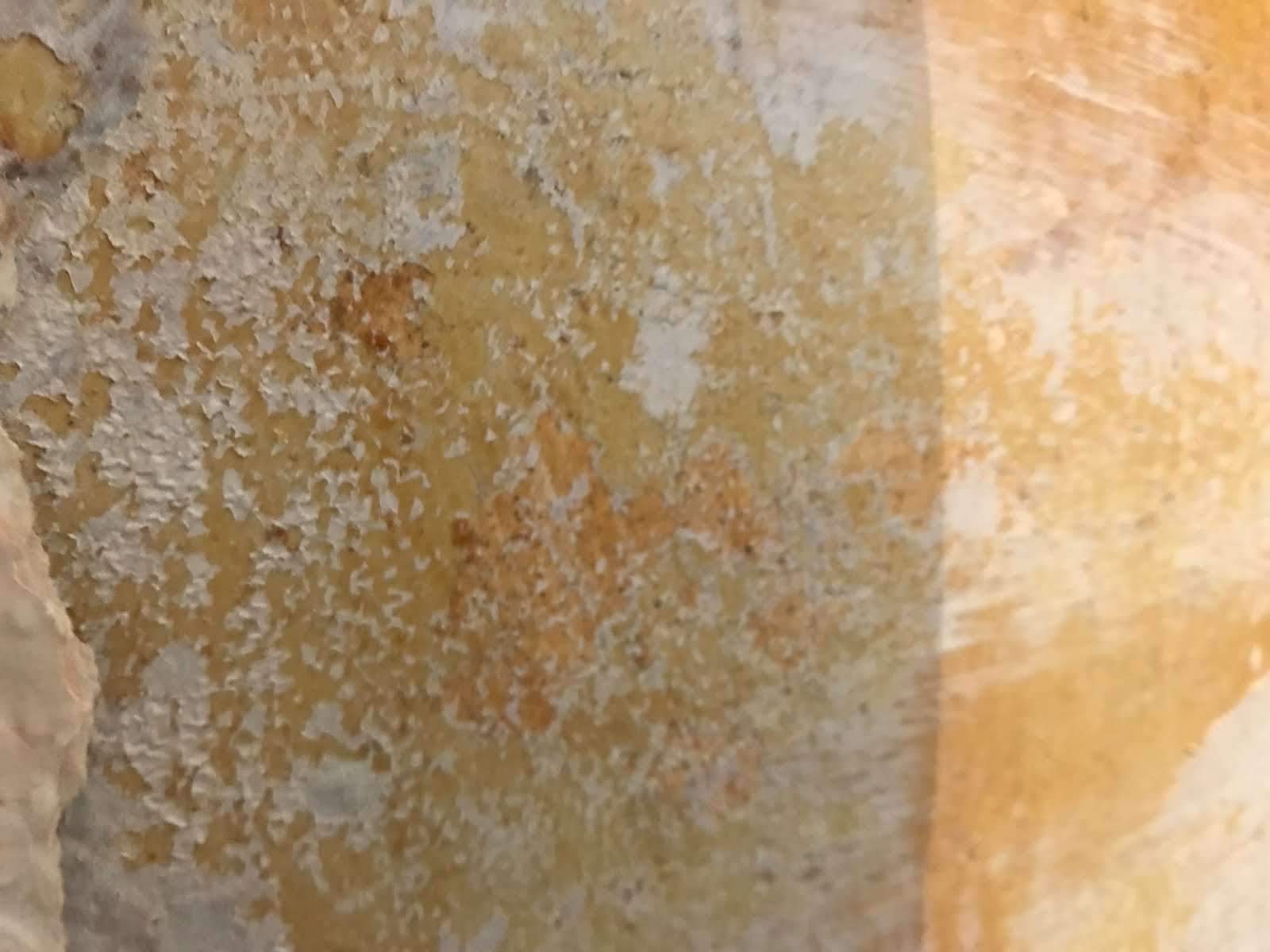 old mottled plaster