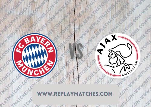 Bayern Munich vs Ajax -Highlights 24 July 2021