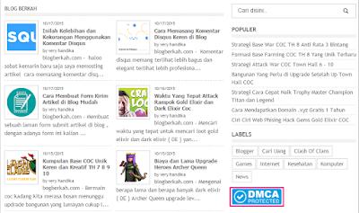 Cara Melindungi Artikel Blog Dengan DMCA