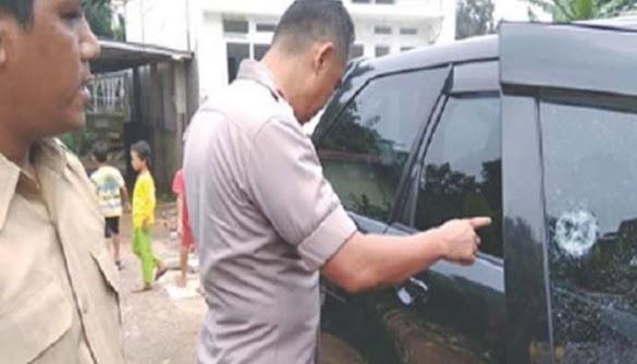 Mobil Guru Ngaji Diberondong Peluru Oleh Orang Tak Dikenal Pakai Air Softgun