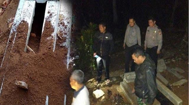 Bukan Ulah Manusia, Penyebab Puluhan Makam Terbongkar di TPU Tasikmalaya Terungkap