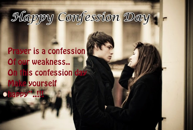 Confession Day Smart Whatsapp Status DP