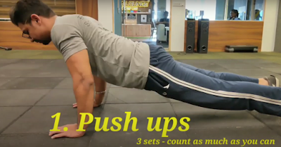 Push Ups For Cricketers