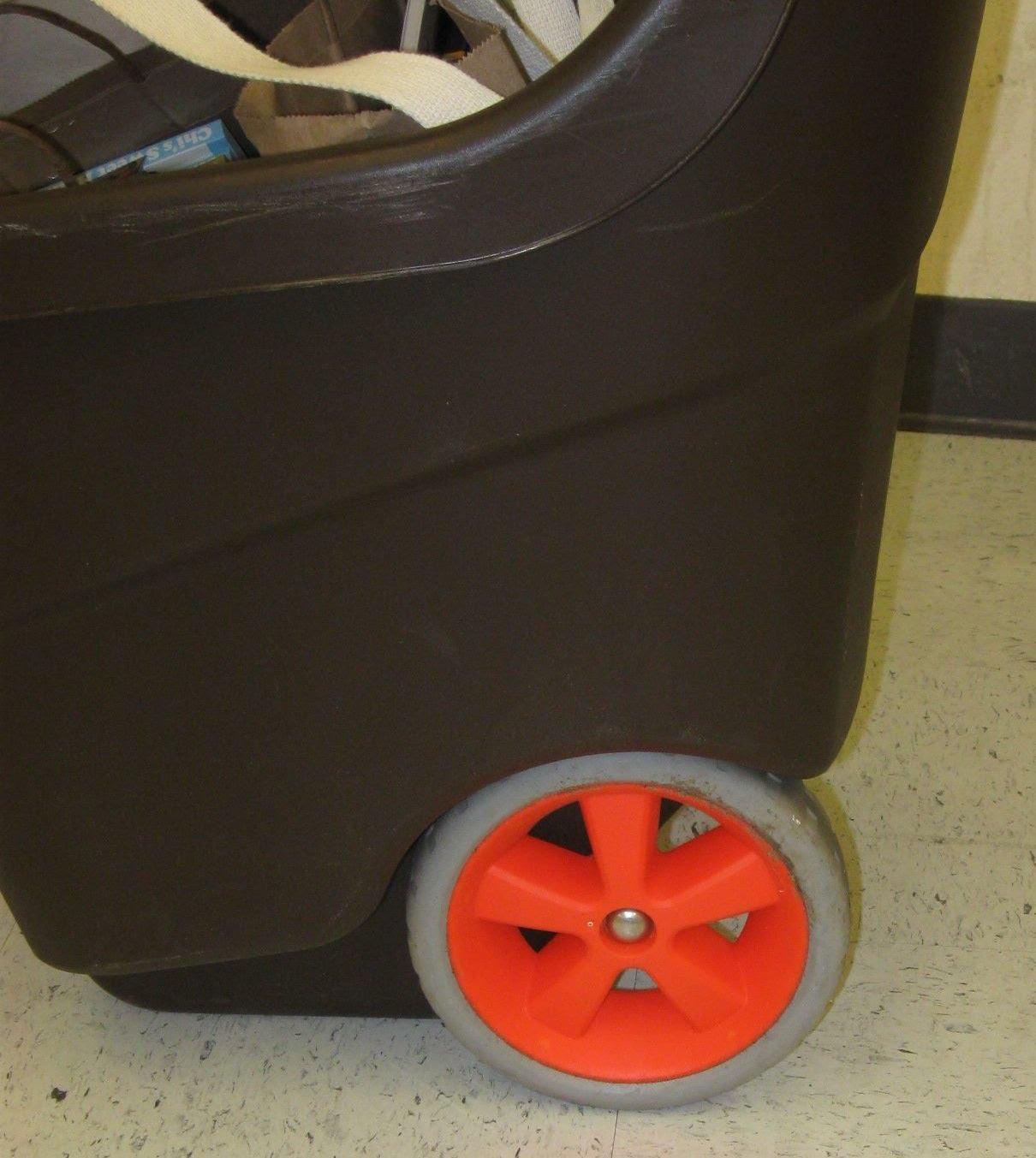 Library Outreach Hacks Plastic Tub On Wheels
