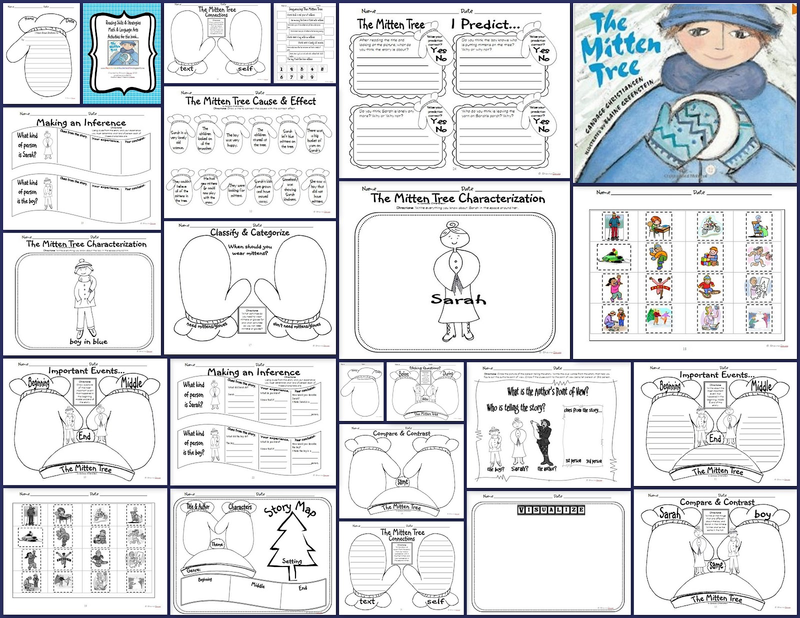 The Picture Book Teacher S Edition The Mitten Tree By
