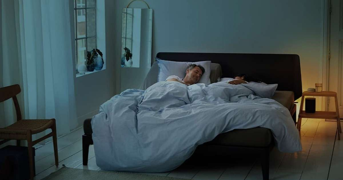 Auping - Smart Base bed system with anti-snoring function - Moniedism