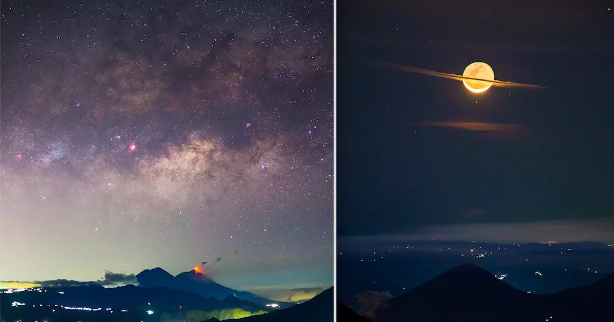 Photographer In Guatemala Captures Unbelievable Shot Of The Moon Disguised As Saturn