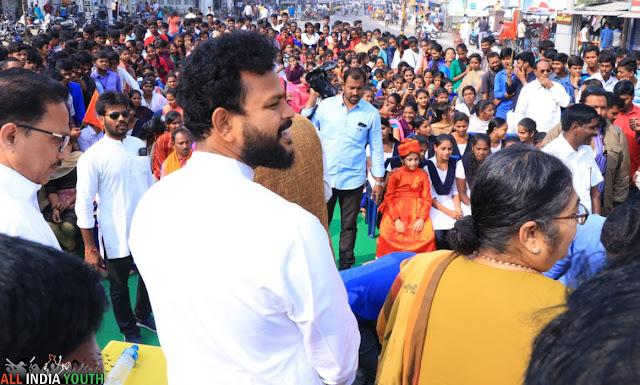 Ram Mohan Naidu with children