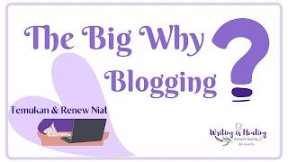 Menentukan alasan blogging