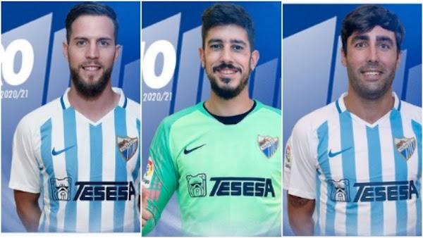 Málaga, los 14 jugadores contrato en vigor