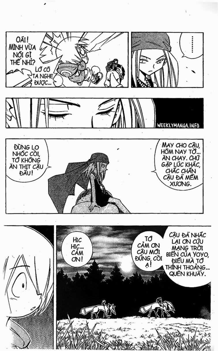 Shaman King [Vua pháp thuật] chap 202 trang 12