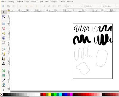 Review Pen Tablet Huion H640P di inkscape