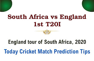 SA vs Eng 1st Match Who will win Today International T20?Cricfrog