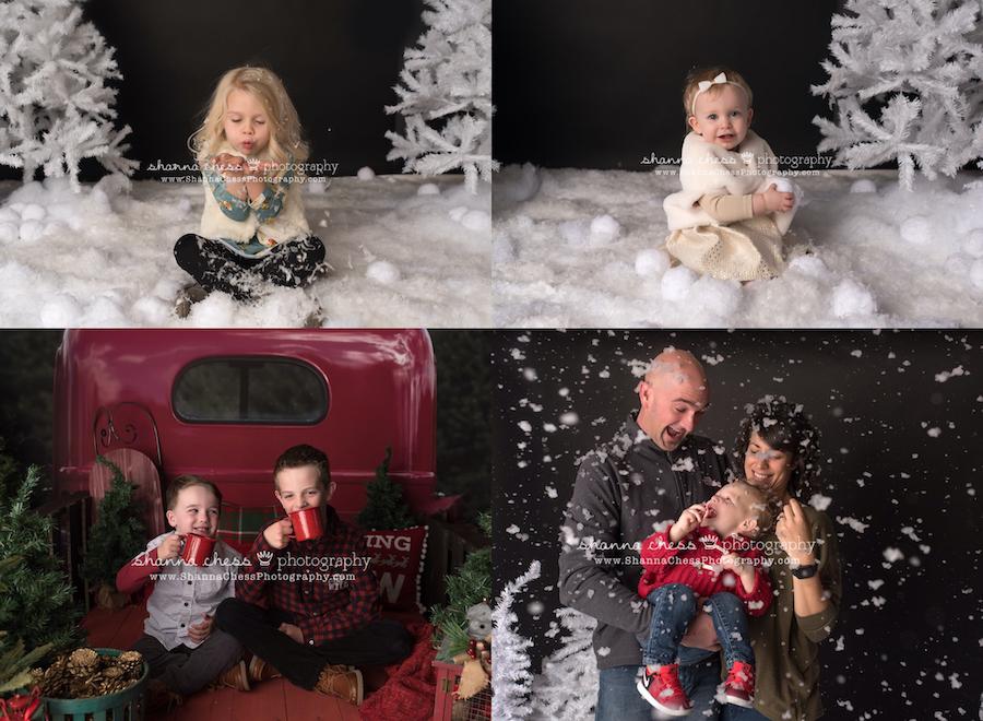 eugene oregon child and family holiday photos