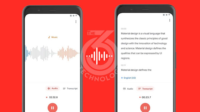 Google will launch a Dictaphone application that transcribes your records into text