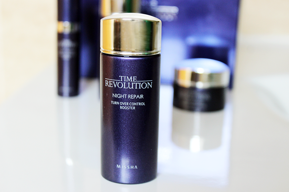 Missha Time Revolution Night Repair Turn Over Control Booster review