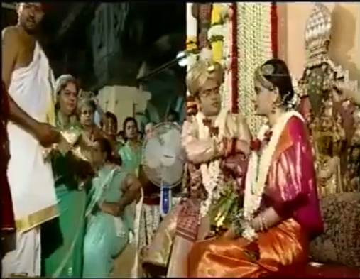 The scion of Mysore royal family Yaduveer Krishnadatta Chamaraja Wadiyar married Trishika Kumari Singh of Dungarpur in Rajasthan on Monday.  He tied the managl sutra at a simple ceremony between 9.05 am and 9.35 am, which was held in the special marriage hall or 'Kalyana Mantapa' of the palace  The wedding was performed following local rituals of Karnataka, which included a kashi yatre, in which the groom threatens  to go to kashi giving up worldly pleasures. but is persuaded to stay back.