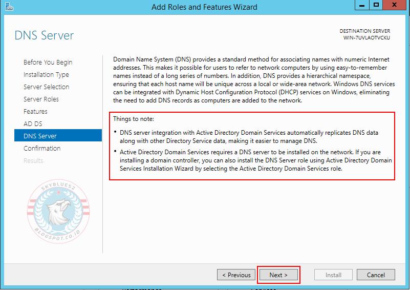 Cara install active directory dan dns windows server 2012 r2 skyblues2 - Installer console active directory windows 7 ...