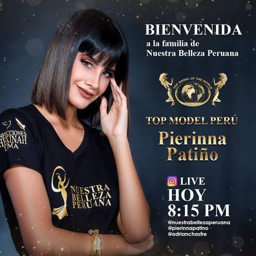 Pierinna Patiño es Top Model Perú 2020