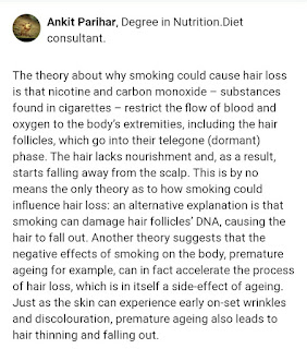 Does Smoking Cause Hair Loss