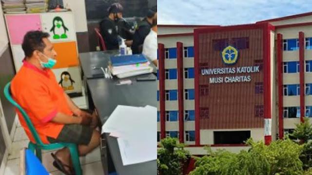 Pelaku S*domi Anak Jalanan Ternyata Dosen di Universitas Katolik Musi Charitas Palembang