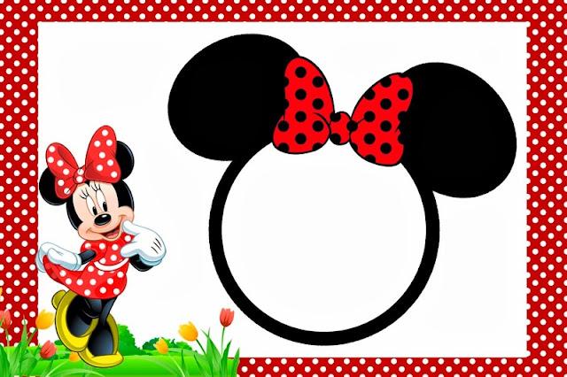 Convites Minnie Mouse Grátis
