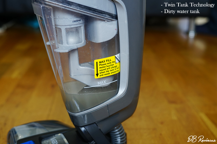 VAX ONEPWR Glide Hard Floor Cleaner - Dirty Water Tank